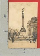 CARTOLINA NV BELGIO - BRUXELLES - Monument Anspach - 9 X 14 - Monumenti, Edifici