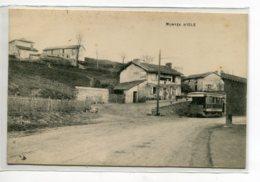 87 ISLE Carte RARE Le Tramway En Montée Rue Du Village écrite Vers 1910   D05 2020 - Otros Municipios