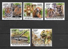 Burundi 2012 Animals - Trade In Wildlife MNH - Ohne Zuordnung