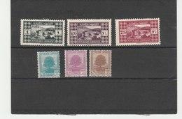 GRAND LIBAN **LUXE N° 164/166 Et 167/169 - Grand Liban (1924-1945)