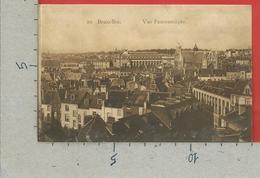 CARTOLINA NV BELGIO - BRUXELLES - Vue Panoramique - 9 X 14 - Cartas Panorámicas
