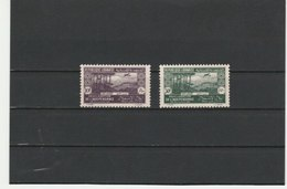 GRAND LIBAN **LUXE POSTE AERIENNE N° 80/81 COTE 13.20 - Grand Liban (1924-1945)