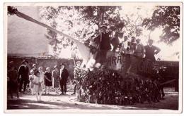 """7024 - Cp Photographique Sans Titre ( Années 50 ? ) - """" Parade De La Gueule ... """" - - Other"""