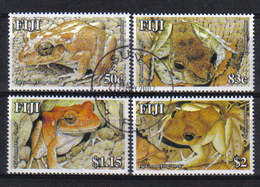 Fiji 2006 Frogs Y.T. 1095/1098 (0) - Fidji (1970-...)