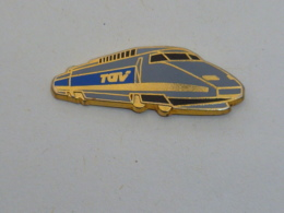 Pin's TGV, VOS PHOTOS EN 1 HEURE A EU, Signe BRUNOY RAIL - Fotografie