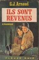 Roman. G.J. Arnaud. Ils Sont Revenus. Fleuve Noir. Angoisse N° 241. Année 1973. Etat Moyen. - Fantastic