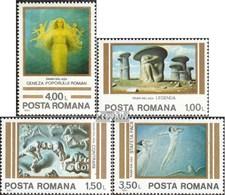 Rumänien Mi.-Nr.: 3892-3895 (kompl.Ausg.) Postfrisch 1982 Sabin Balasa - 1948-.... Republiken