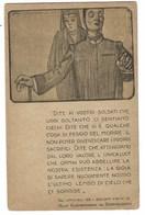 4464 - ILLUSTRATORE SCORZON SOLDATI CIECHI RESISTERE SIGNIFICA VINCERE VIVA L'ITALIA 1915 CIRCA - Guerra 1914-18