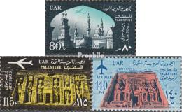 Ägypten - Bes. Palästina Mi.-Nr.: 133-135 (40-42) (kompl.Ausg.) Postfrisch 1963 Baudenkmäler - Unclassified