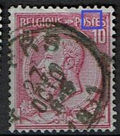 46  Obl  Cu  T Amputé - 1884-1891 Léopold II