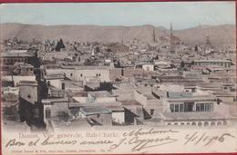 Syrie Syria Damas Damascus Vue Generale Bab-Charki (In Very Good Condition) (En Très Bon état) - Jordanien
