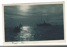 4476 - VIAREGGIO SERA ANIMATA BARCA NAVE 1930 CIRCA - Viareggio