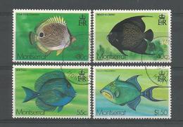Montserrat 1978 Fish Y.T. 382/385 (0) - Montserrat