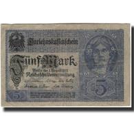 Billet, Allemagne, 5 Mark, KM:56a, TB - [ 2] 1871-1918 : Impero Tedesco