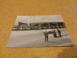 FOTOGRAFIA TARGA FLORIO CON DEDICA SUL RETRO-1955 - Automobili
