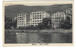 4484 - ABBAZIA Opatija HOTEL CRISTALLO 1940 CIRCA - Kroatien