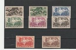 GUINEE FRANÇAISE **LUXE  N° 158/168 - Neufs