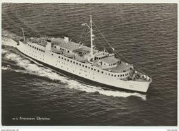 AK  Schiff MS M/S Prinsessan Cristina Göteborg Frederikshavn 1960 - Bateaux