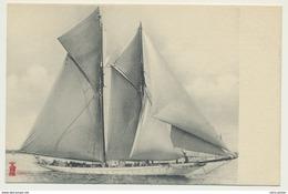 AK  Segelboot Schiff - Voiliers