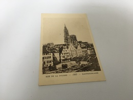 CL - 1200 - Le Strasbourg Disparu - Rue De La Douane - 1865 - Strasbourg