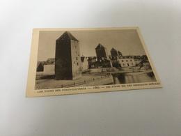 CL - 1200 - Le Strasbourg Disparu - Les Tours Des Ponts-Couverts - 1860 - Strasbourg