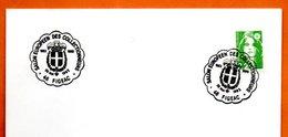 46 FIGEAC   SALON DES COLLECTIONNEURS 1992 Lettre Entière N° HI 312 - Marcofilie (Brieven)
