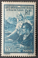 R1513/110 - 1938 - OEUVRES SOCIALES ETUDIANTES - LUXE - N°417 NEUF** - Nuovi