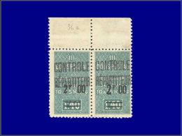 ALGERIE Colis Postaux * - 36/36 B, Type I+II Se Tenant, Bdf: 2.00/1.40. (Maury 45 I + II) - Cote: 115 - Algérie (1924-1962)