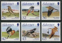 Alderney 2004  **/MNH   Correo Yvert Nº  237/242 Aves Migratorias  (6 Val.) - H - Alderney