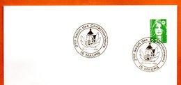 15 MAURS  2° SALON DES COLLECTIONNEURS 1992 Lettre Entière N° HI 333 - Matasellos Conmemorativos