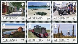 Alderney 2017  **/MNH   Correo Yvert Nº  580/585 Vistas De Alderney (6 Val.) - Alderney