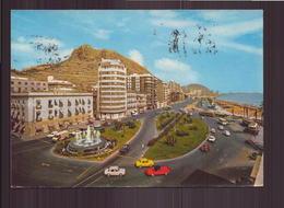 ESPAGNE ALICANTE PLAZA DEL MAR Y PASEO DE GOMIS - Alicante