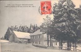70 - L'HOTEL DU BALLON DE SERVANCE EN HIVER - Francia