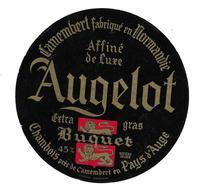 ETIQUETTE De FROMAGE..CAMEMBERT Fabriqué En NORMANDIE..AUGELOT..BUQUET à CHAMBOIS ( Orne 61) - Kaas
