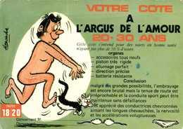 Humour Sexy Alexandre Votre Cote à L'Argus De L'Amour 20 30 Ans - Humor