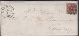 1861. 83 + GARDING 21 1 To Flensburg.  4 S KGL POST FRIM. Written 29th January. Lette... () - JF321290 - 1851-63 (Frederik VII)