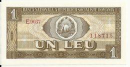ROUMANIE 1 LEU 1966 UNC P 91 - Roumanie