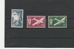 GUYANE FRANÇAISE ** LUXE N° POSTE AERIENNE 25 ET 26/27 COTE 5.10 - Guyane Française (1886-1949)