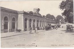 34 : BEZIERS : La Gare ( Animation Attelages ) - Beziers