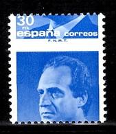 Espagne Timbre Juan Carlos Superbe Variété Piquage à Cheval Neuf ** MNH. TB. A Saisir! - Variétés & Curiosités