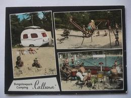 N48 Ansichtkaart Ommen - Bungalowpark Camping Calluna - 1971 - Ommen