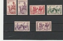 MAURITANIE ** LUXE N° 125/130 COTE 9.90 - Mauritanie (1906-1944)