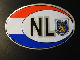 Blason écusson Adhésif Autocollant  NL Nederland Pays Bas Auto Aufkleber Wappen Coat Of Arms Sticker Adesivo Adhesivo - Obj. 'Remember Of'