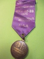 Médaille De Congrés/Conference On Cities/Delegate /  INDIANAPOLIS/ Indiana/ USA/ 1971     MED366 - USA