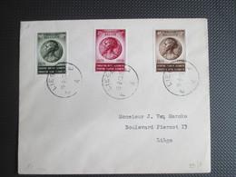 991/93 - Kon. Elysabeth - Brief Verstuurd Binnen Liège - Cartas