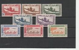 MAURITANIE ** LUXE N° POSTE AERIENNE 10/17 COTE 8.75 - Mauritanie (1906-1944)