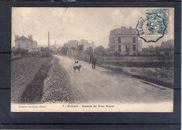 95. Ermont. Avenue Du Gros Noyer. Coin Bas Gauche Abimé - Ermont