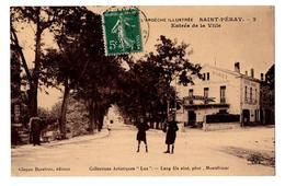 SAINT PERAY ENTREE DE LA VILLE HOTEL BADET ANIMEE - Saint Péray