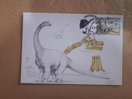 Angola Fdc Dinosaur 1994 - Stamps