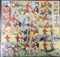 Sweden Soccer Football World Cup-1958  35 Postcards With City Cancellation - Fußball-Weltmeisterschaft